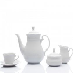 Kávová súprava biela 17 D