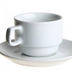 Karlovarský porcelán - PRAHA šálka čaj