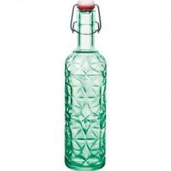 ORIENTE fľaša 1 l s patentom zelená
