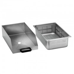 Separátor odpadu pre škrabku zemiakov