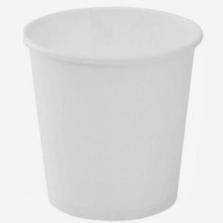 Pohár papier biely 100 ml
