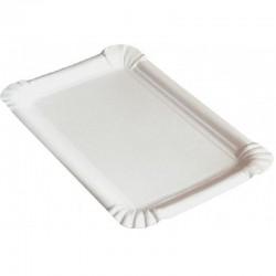 Tácka z lepenky č. 5 (100 ks) biela