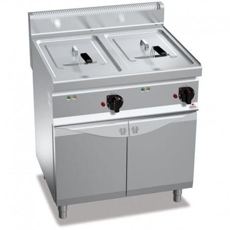 Elektrická fritéza s 2 x 10 l