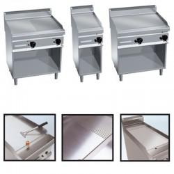 Plynová grilovacia platňa hladká/ryhovaná