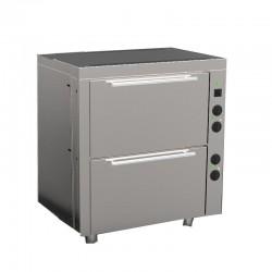 Elektrická statická rúra 2/1 GN - 2 komory