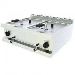 Elektrická stolová fritéza - 2 vaničky