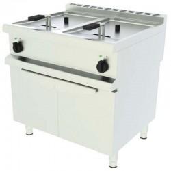 Elektrická fritéza - 2 vaničky s podstavbou