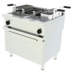 Elektrický varič cestovín - 2 vaničky s podstavbou