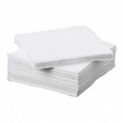 Servítky 33x33 cm biele