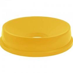 Pokrievka s otvorom žltá