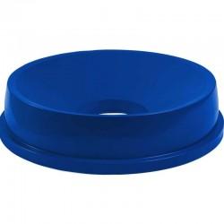 Pokrievka s otvorom modrá