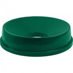 Pokrievka s otvorom zelená
