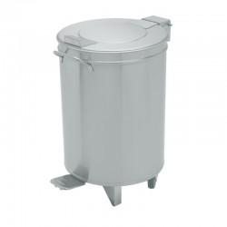 Nerezový odpadkový kôš PROFI nášľapný