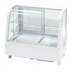 Biela stolová vitrína EKO 100 l
