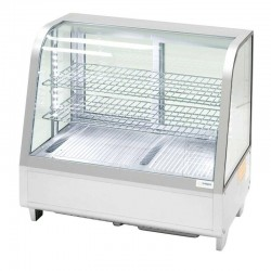 Strieborná stolová vitrína EKO 100 l