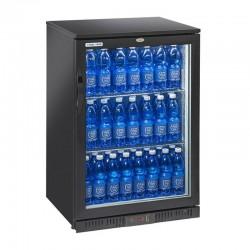 Presklená barová chladnička jednodverová