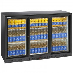 Presklená barová chladnička