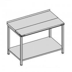 Pracovný stôl rozrábkový s policou