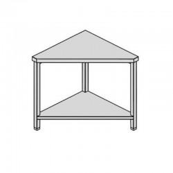 Pracovný stôl rohový s policou 60-60