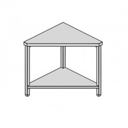 Pracovný stôl rohový s policou 80-80
