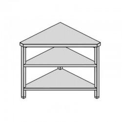 Pracovný stôl rohový s policami