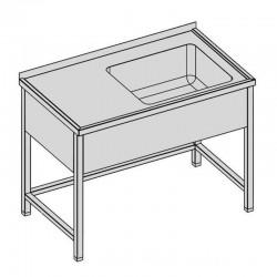 Umývací stôl s vaňou a krytom