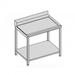 Odoberací stôl s policou 140-70
