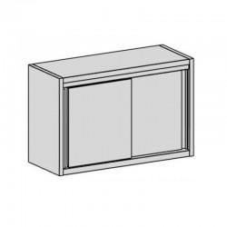 Nástenná skrinka s posuvnými dverami