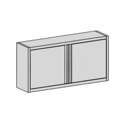 Nástenná skrinka s krídlové dverami