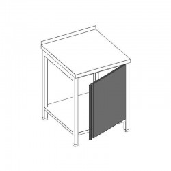 Otváracie dvierka na stoloch