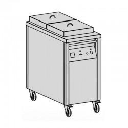 Ohrievací vozík tanierov 2 x 50 ks
