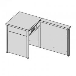 Pokladničný modul otvorený
