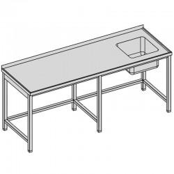 Umývací stôl dlhý