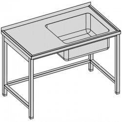 Umývací stôl s vaňou