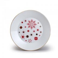 Lea dezertný tanier 19 červená hviezda zl
