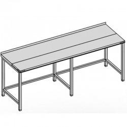Pracovný stôl rozrábkový dlhý