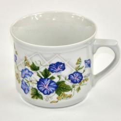 Hrnček varák modrý kvet