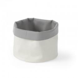 Košíky na pečivo z textilu okrúhle