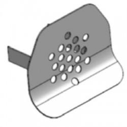 Sitko pred výtokový ventil