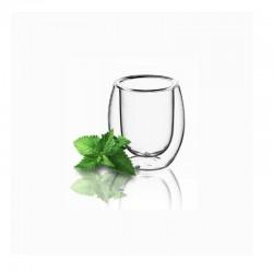 Súprava pohárov s dvojstenou 100 ml 6 ks