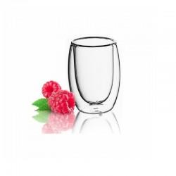 Súprava pohárov s dvoj. stenou 300 ml 6 ks