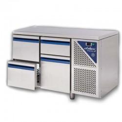 Chladiaci stôl DALMEC - v kombinácii (13): (1/2+1/3) zásuvka