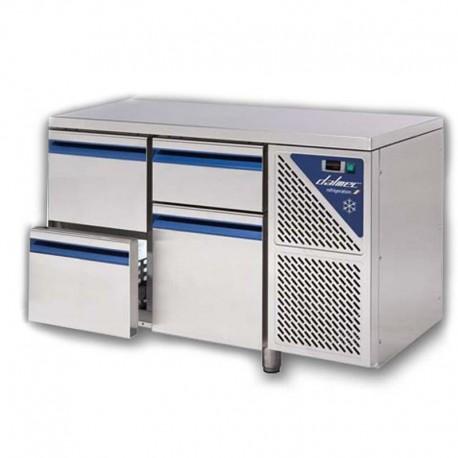 Chladiaci stôl DALMEC - v kombinácii (31): (1/2+1/3)+3-zásuvka