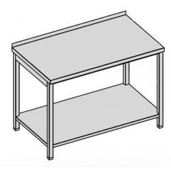 Pracovný stôl s policou 60x60