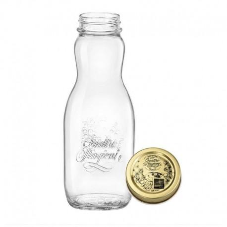 QUATTRO STAGIONI - fľaša na zaváranie 1 l džús