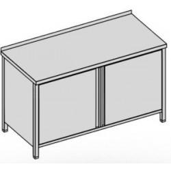 Pracovný stôl skrinkový - krídlové dvere