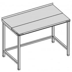 Pracovný stôl rozrábkový 130x70