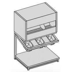 Zásobník na príbory ,tácky a pečivo
